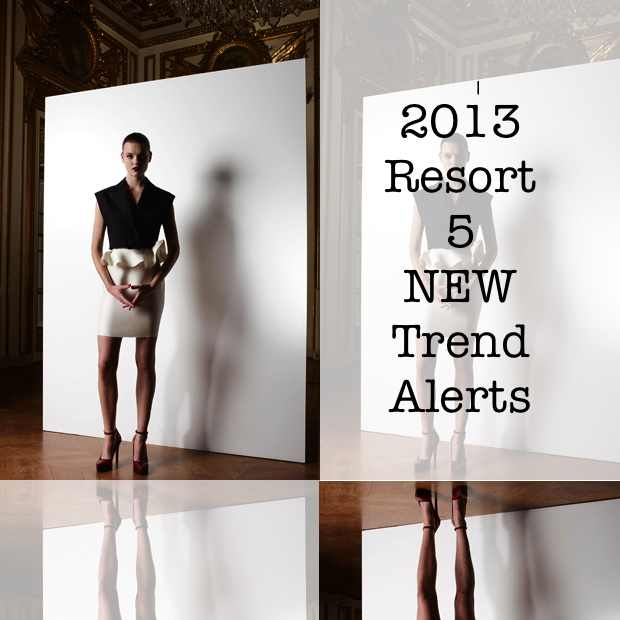 5 New trend Alerts resort 2013 collage