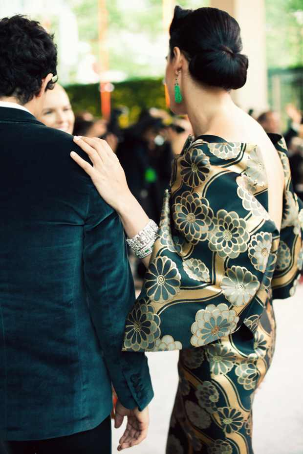 CFDA Awards 2012, Kimono dress