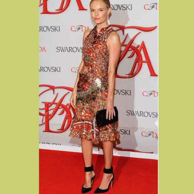 Kate Bosworth, in AltuzarraCFDA best dressed