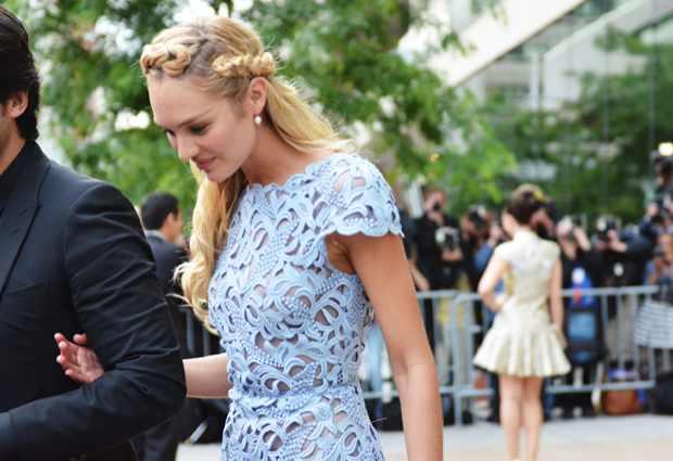 Candice Swanepoel, in Valentino