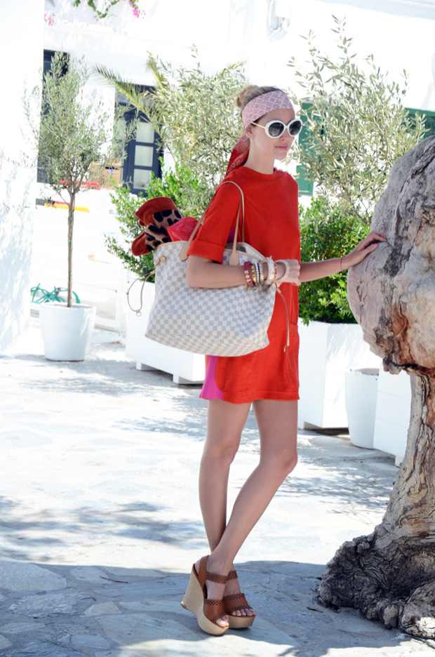 Chiara Ferragni The blonde salad Mykonos