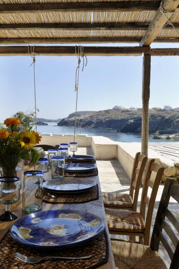 Dinning Sea View, Mykonos