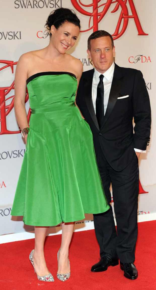 Garance Dore And Scott Schuman CFDA