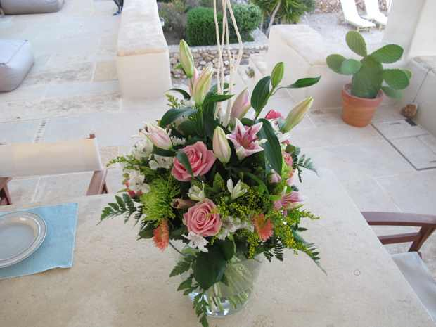 Flower Bouquet Makria Miti Estates
