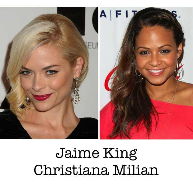 Jaime King Christiana Milian hairstyle