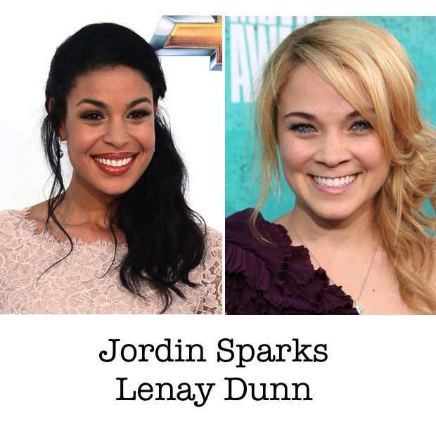 Jordin Sparks Lenay Dunn hairstyle collage Trendsurvivor