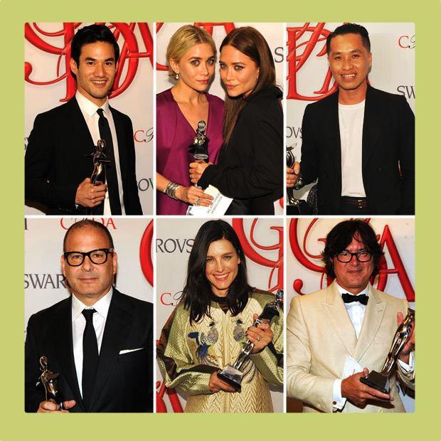 Joseph Altuzzara, Ashley and Mary-Kate Olsen, Phillip Lim, Reed Krakoff, Tabitha Simmons, and Billy Reid