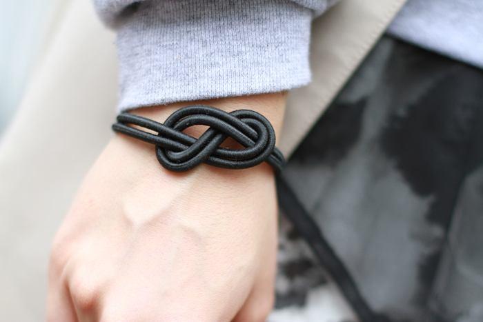 Knot bracelet Andy Style Scrapbook