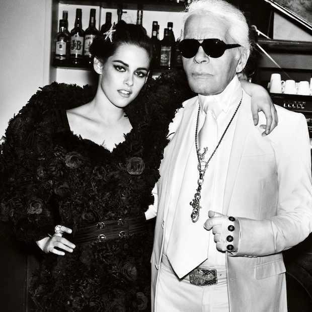 Kristen Stewart Karl Lagerfeld