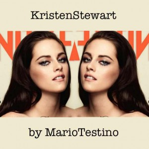 Kristen Stewart by Mario Testino for Vanity Fair July 2012