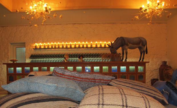 Lobby Mykonos Blu Hotel