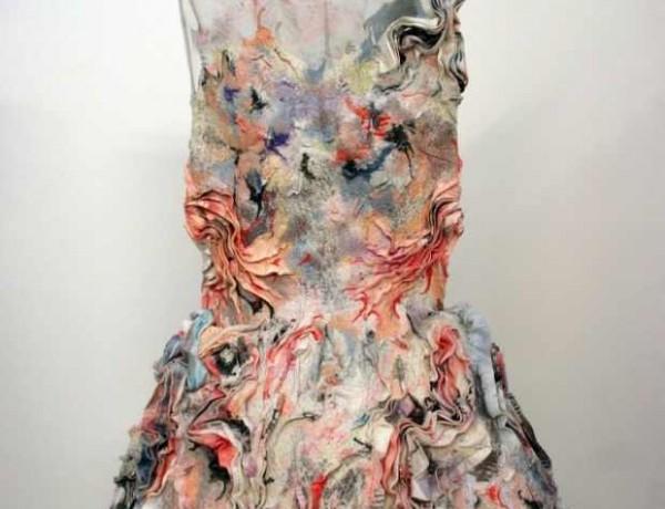 MARIT FUJIWARA A Fashion Designer Artist Visionary dress pastels