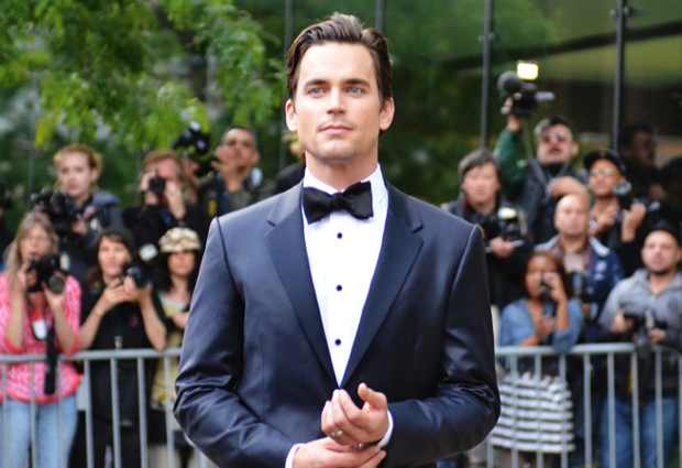 Matt Bomer, in Calvin Klein Collection