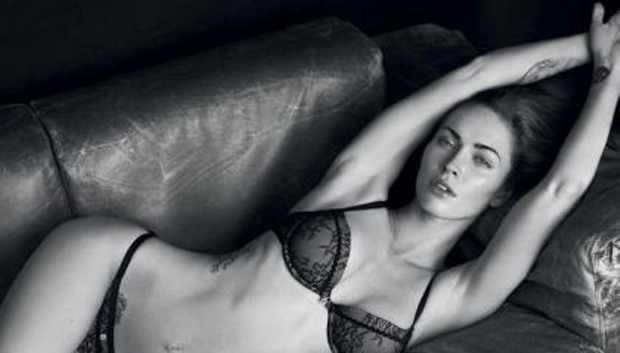 Megan Fox tattoo Armani