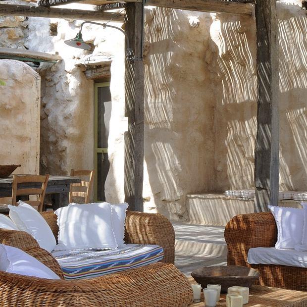 Mykonos Villa Retro Chic