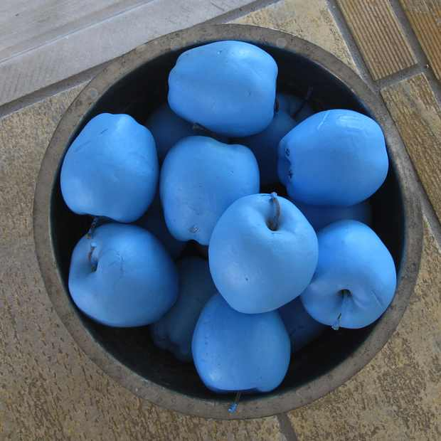 Psarou Mykonos Blu apples blue
