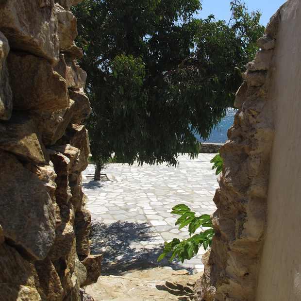 Retro Chic Villa, Mykonos Veranda sea view
