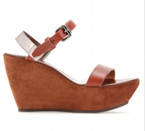 Acne Tan Color wedges