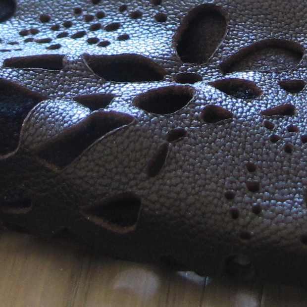 Vanessa Bruno leather playsuit leiser cut