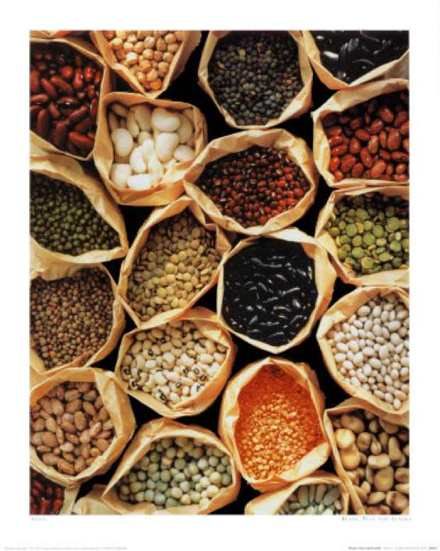 Beans and lentils, superfood for beautiful skin