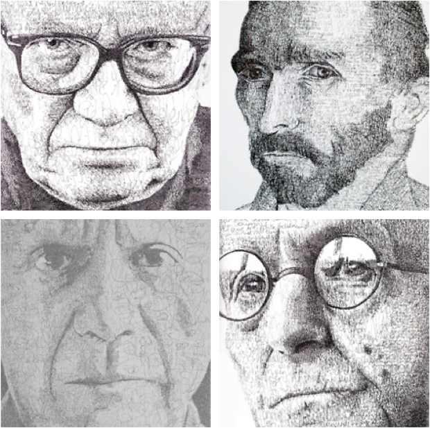 anatol knotek art ernst jandl hermann hesse picasso van gogh portrait