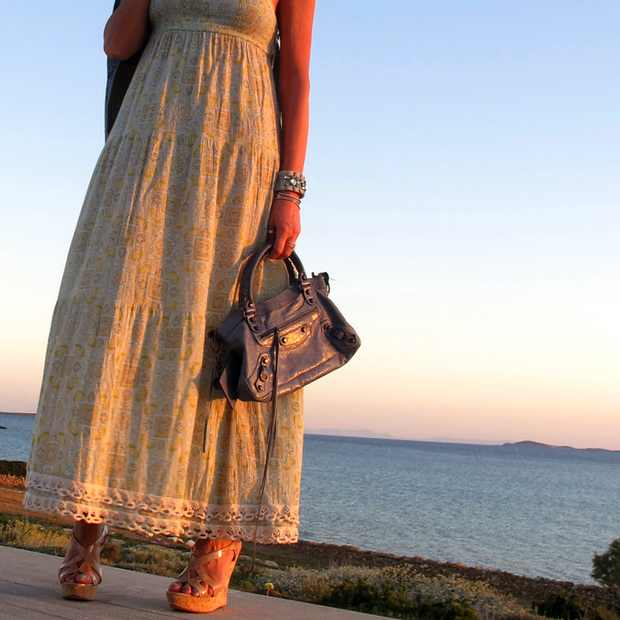 Boho Chic Juicy dress Pastel Outfit