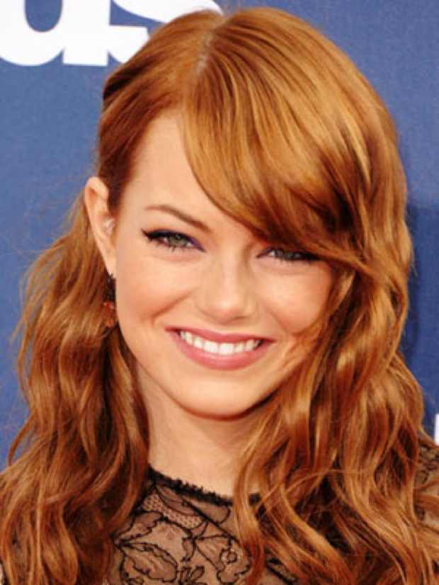 Celebrity Summer Hairstyle, Emma Stone