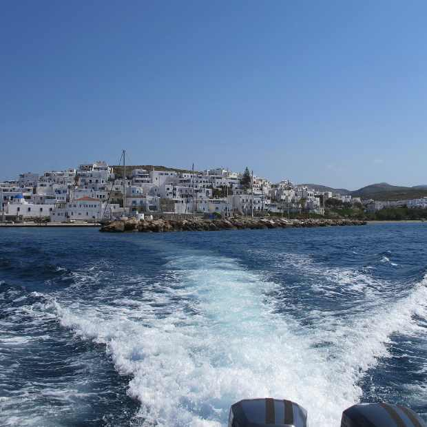 Naousa from the sea