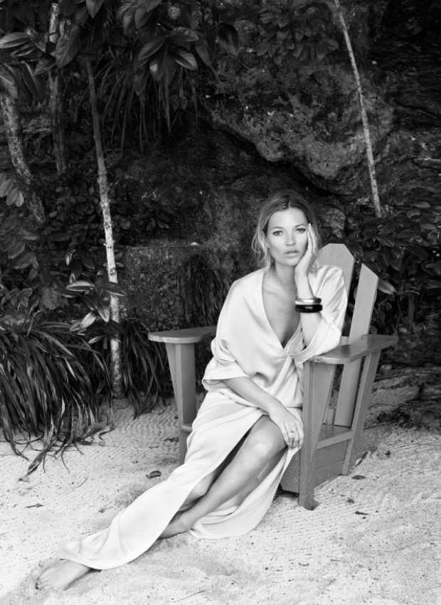 Kate Moss in Harpers Bazaar June 2012