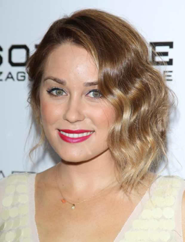 Celebrity Summer Hairstyle Lauren Conrad's Vintage Waves