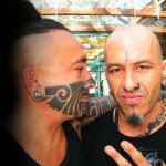 Tattoo Artist Mike (right)
