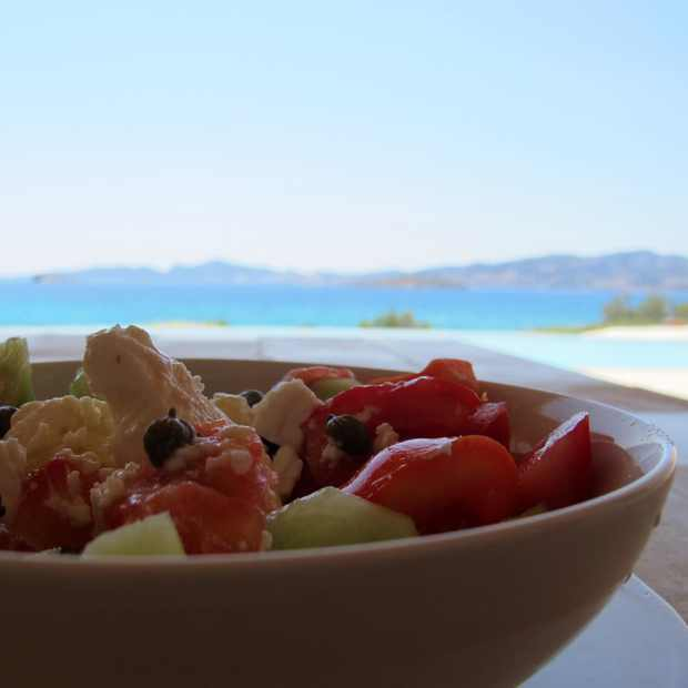 Greek Salad : My Perfect Horiatiki Salata