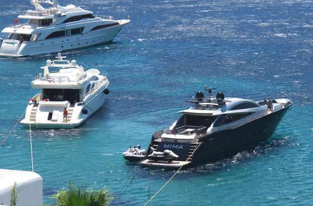 psarou Mykonos yachts