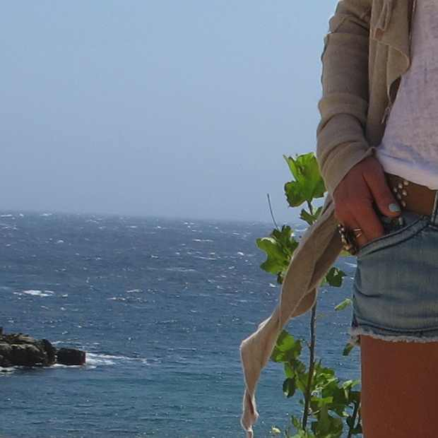 sea cardigan shorts