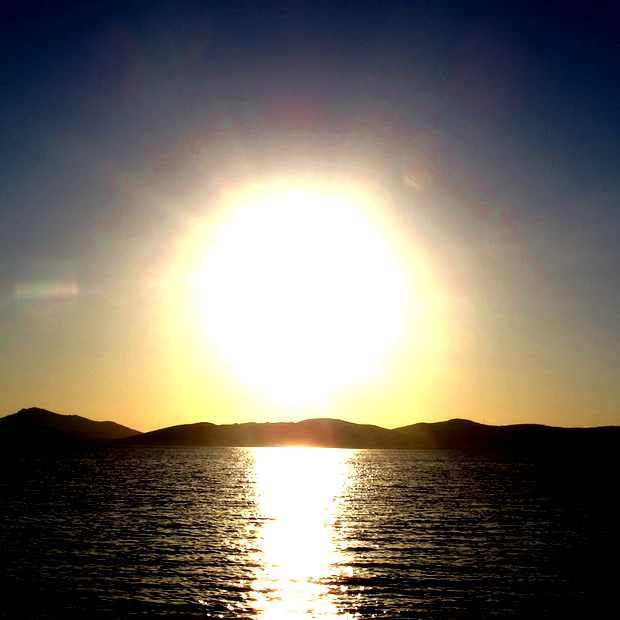 Sunset, Paros, Greece