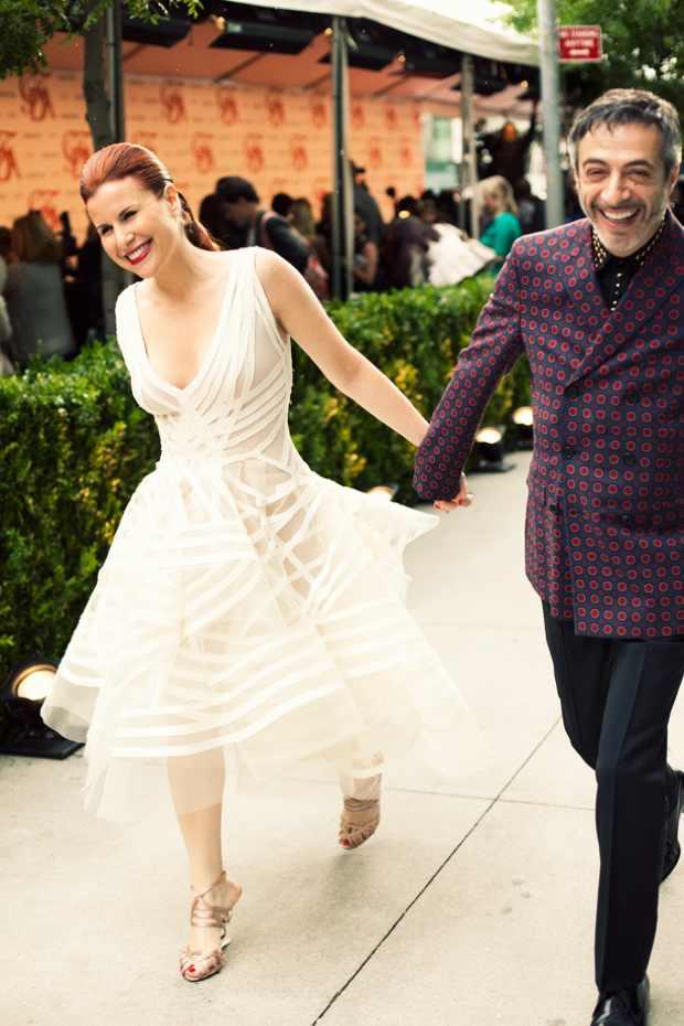 CFDA Awards 2012 Red Carpet dresses white