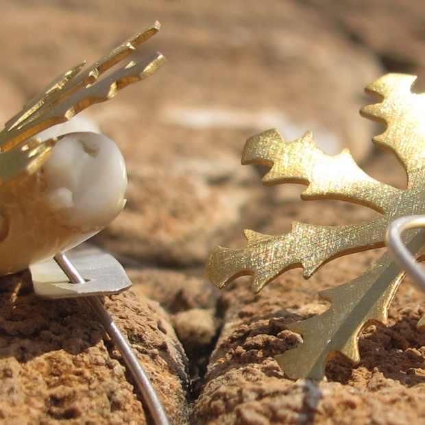 ACTUS earrings Paros Handmade jewelry