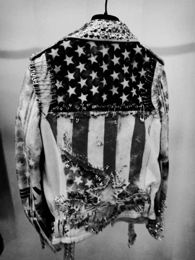 Americana USA Flag jeans jacket