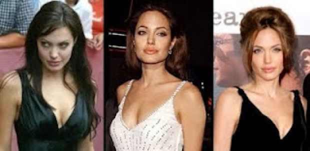 Angelina Jolie Apple shape