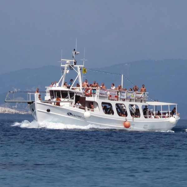 Boat Skopelos Beach Kastani