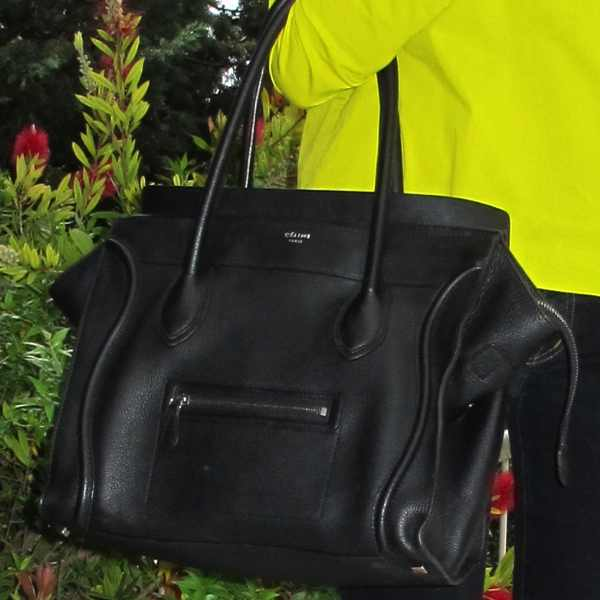 Celine handbag black