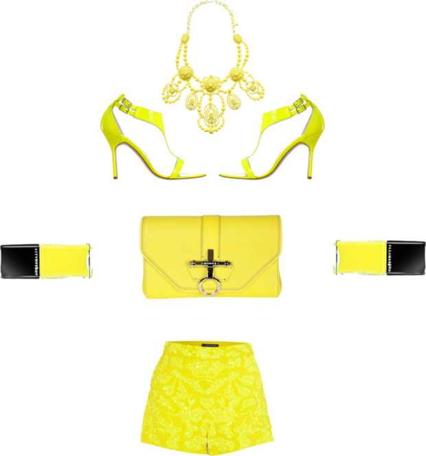 Fashion inspiration Yellow trendsurvivor