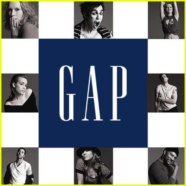 Gap logo faces