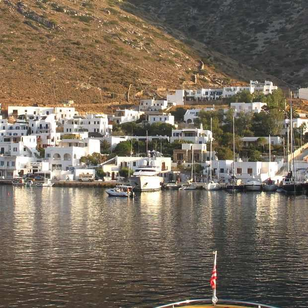 Greece Sifnos Port