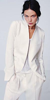 H&M white suit 2012
