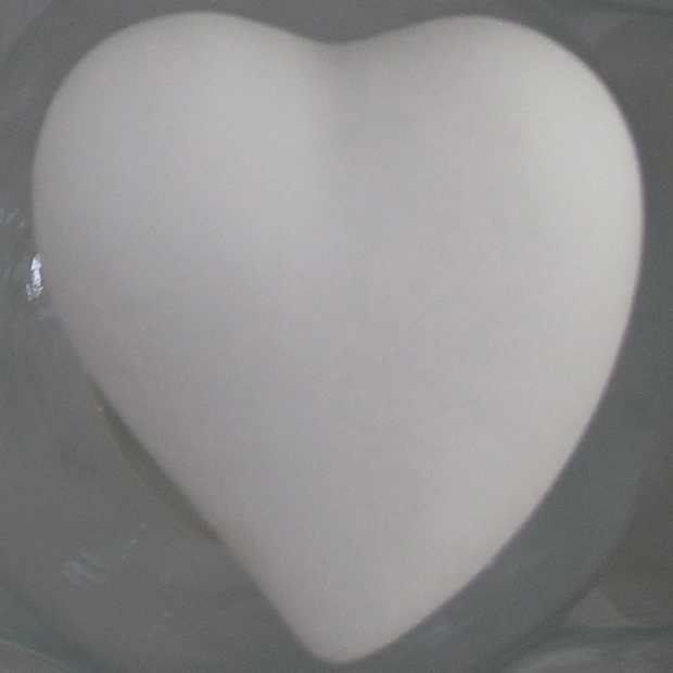 Ceramic Heart for bottle YRIA