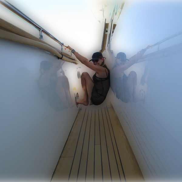 Isabel Marant Fishnet top Prada black bikini gloom