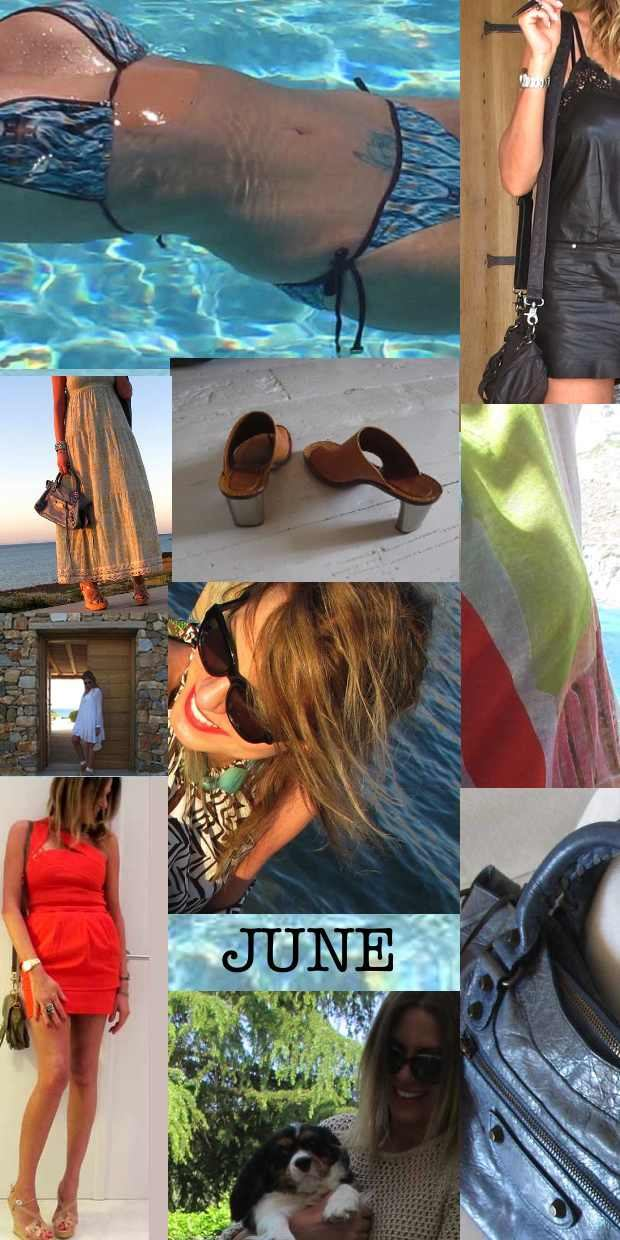 June Outfits, Trendsurvivor, Collage