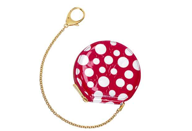 Kusama Louis Vuitton Key Chain