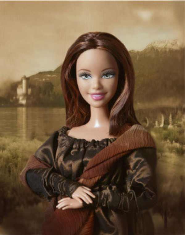 Leonardo da Vinci, Mona Lisa Barbie